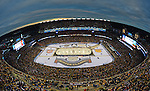 (Foxboro, MA, 01/01/16) Boston Bruins take on the Montreal Canadiens during the NHL Winter Classic hockey game at Gillette Stadium in Foxboro on Friday, January 01, 2016. Photo by Christopher Evans