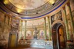 Hallway entrance Interior of Baroque Villa Palagonia - Baghera Sicily Pictures, photos, images & fotos