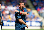 St Johnstone v Rangers... 30.07.11   SPL Week 2.Derek McInnes shows his frustration.Picture by Graeme Hart..Copyright Perthshire Picture Agency.Tel: 01738 623350  Mobile: 07990 594431