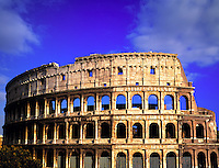 The Colosseum    Rome, Italy Built in AD 72 seated over 50,000   Rome;s most famous ancient ruin