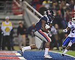 Ole Miss' Enrique Davis (27) vs. Louisiana Tech in Oxford, Miss. on Saturday, November 12, 2011.
