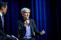 LAS VEGAS, NV - August 12, 2016: Dr. Jill Stein pictured at the Asian American Journalists Association and APIAVote 2016 Presidential Election Forum at The Colosseum at Caesars Palace in Las Vegas, NV on August 12, 2016. Credit: Erik Kabik Photography/ MediaPunch