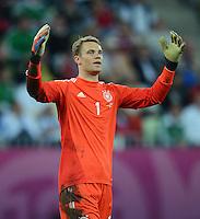 FUSSBALL  EUROPAMEISTERSCHAFT 2012   VIERTELFINALE Deutschland - Griechenland     22.06.2012 Torwart Manuel Neuer (Deutschland)