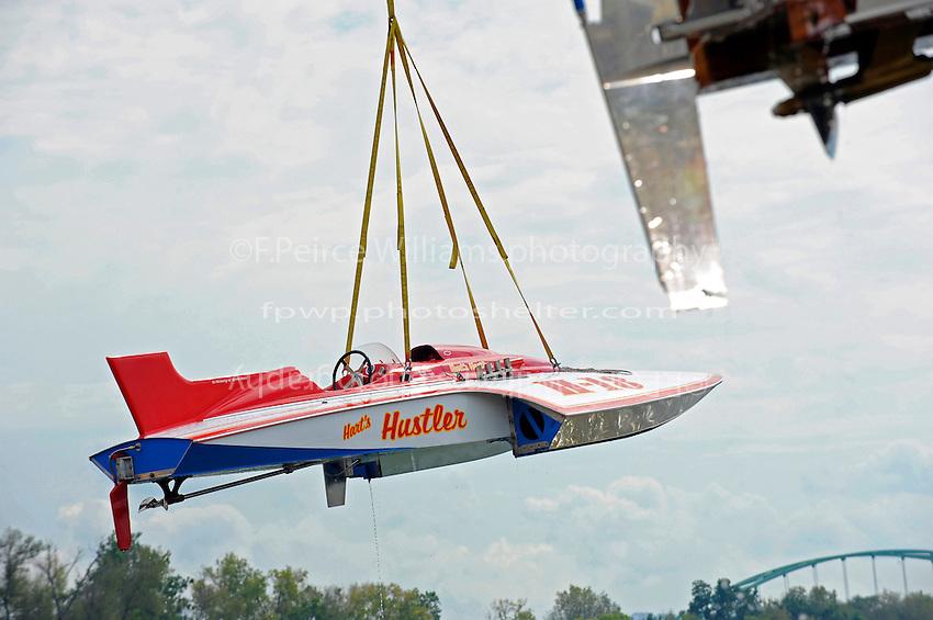 "H-18 ""Hart's Hustler"" (1966 Jone's design 7 Litre Div I class hydroplane)"