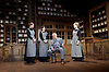 Hobson's Choice <br /> by Harold Brighouse<br /> at Vaudeville Theatre, London, Great Britain <br /> press photocall<br /> 13th June 2016 <br /> <br /> Martin Shaw as Horatio Hobson <br /> <br /> <br /> Naomi Frederick as Maggie Hobson <br /> <br /> Gabrielle Dempsey as Vickey Hobson <br /> <br /> Florence Hall as Alice Hobson <br /> <br /> <br /> <br /> <br /> <br /> Photograph by Elliott Franks <br /> Image licensed to Elliott Franks Photography Services