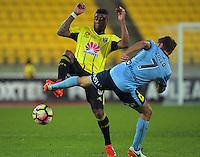 161023 A-League Football - Wellington Phoenix v Sydney FC