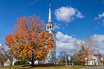 Fall foliage in Brooklyn, Connecticut, USA