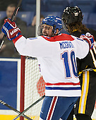 Ryan McGrath (UML - 10) - The University of Massachusetts Lowell River Hawks defeated the visiting American International College Yellow Jackets 6-1 on Tuesday, December 3, 2013, at Tsongas Arena in Lowell, Massachusetts.