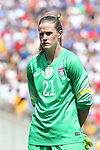 16 August 2015: Alyssa Naeher (USA). The United States Women's National Team played the Costa Rica Women's National Team at Heinz Field in Pittsburgh, Pennsylvania in an women's international friendly soccer game. The U.S. won the game 8-0.