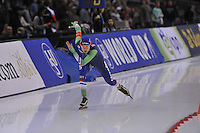 SPEED SKATING: SALT LAKE CITY: 21-11-2015, Utah Olympic Oval, ISU World Cup, 500m Ladies, Marrit Leenstra (NED), ©foto Martin de Jong