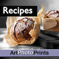 Fine Art Photo Prints Wall Art of Prepared Food