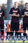 23 October 2015: Louisville's Sawyer Edwards. The University of North Carolina Tar Heels hosted the University of Louisville Cardinals at Fetzer Field in Chapel Hill, NC in a 2015 NCAA Division I Men's Soccer match. UNC won the game 2-1.