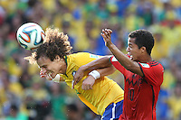 Fortaleza, Brazil - Tuesday, June 17, 2014: Mexico and Brazil played to a 0-0 draw during World Cup group play at Est&aacute;dio Castel&atilde;o.<br /> <br /> 17/06/2014/MEXSPORT/FOTO ARENA <br /> <br /> Estadio Castelao, Fortaleza , Ceara , Brasil