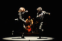 London, UK. 23.02.2016. Brothers, Farruquito (Juan Manuel Fernandez Montoya 'Farruquito') & Farruco present BUEN ARATE, at Sadler's Wells, as part of the London Flamenco Festival 2016. Picture shows: Farruco & Farruquito. Photograph © Jane Hobson.