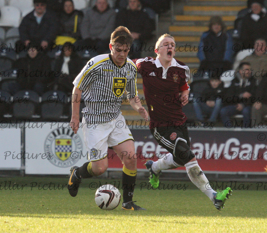 St Mirren v Heart of Midlothian, Little Big Shot Youth Cup 071214