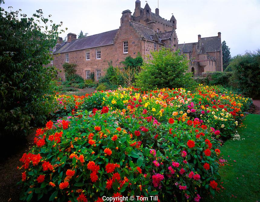 Cawdor Castle Scotland, United Kingdom  Castle of Macbeth newar Inverness Six hundred year old castle  September Afternoon