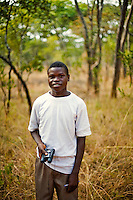 "18 year old Brian Mushamba from Chalilo school in Sereje district, on his first safari in Kasanka National Park. ""To African people, animals have scenic beauty - they look beautiful - and at some point they are used as meat. Most of the parents don't even understand why a National Park should be there but my parents told me that if we didn't have NPs then we wouldn't be able to see any more species. They have never been to a National Park. My favourite animal is a zebra because of the stripes. I have only seen it in pictures not in real life.""  Local schools and women's groups are regularly brought into Kasanka, which is unique in the country and unusual in Africa as it is privately managed and owned by a trust. People are able to see animals flourishing in land which was once free reign for poachers. Combined with anti-poaching scouts, the education programme is on the frontline of conservation methods in the park, showing local people wild animals in their natural habitat."