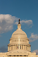 US Capitol Building, in Washington DC, in late afternoon light