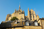 Mont Saint-Michel - Houses & Abbey - Brittany - France