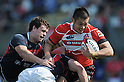 Tomohiro Senba (JPN),.MAY 19, 2012 - Rugby : HSBC Asian Five Nations 2012 match between Japan 67-0 Hong Kong at Chichibunomiya Rugby Stadium, Tokyo, Japan. (Photo by Jun Tsukida/AFLO SPORT) [0003].