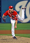 9 July 2011: Washington Nationals pitcher Ross Detwiler on the mound against the Colorado Rockies at Nationals Park in Washington, District of Columbia. The Nationals were edged out by the Rockies 2-1, dropping the second game of their 3-game series. Mandatory Credit: Ed Wolfstein Photo
