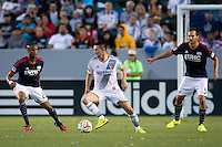 Carson, California - Wednesday, July16, 2014: The LA Galaxy defeated the New England Revolution 5-1 in a Major League Soccer (MLS) match at StubHub Center stadium.