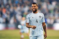 Kansas City, KS. - March 15 2014: Sporting Kansas City tied FC Dallas 1-1 in a Major League Soccer (MLS) game at Sporting Park.