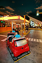 "KIDZANIA TOKYO, ""Edutainment City"",.Children fixing a car at the"