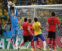 Fortaleza, Brazil - Tuesday, June 17, 2014: Mexico and Brazil played to a 0-0 draw during World Cup group play at Est&aacute;dio Castel&atilde;o.<br /> <br /> 17/06/2014/MEXSPORT/ROBERTO MAYA <br />  <br /> Estadio Castelao, Fortaleza  , Ceara , Brasil