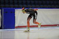 SCHAATSEN: HEERENVEEN; 11-10-2014, IJstadion Thialf, KNSB Trainingswedstrijd, Ingmar Berga, ©foto Martin de Jong