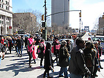 Women for Women International's Meet Me on the Bridge Campaign takes to the streets to cross Brooklyn Bridge on International Women's Day, March 8th, as a symbolic act to connect women and those fighting for women's rights and equality  worldwide.