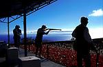 Clay pidgeon shooting,Tenerife, Canary Islands, Spain