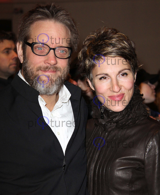 Richard Leaf; Tamsin Greig Whatsonstage.com Theatregoers' Choice Awards Concert, Prince of Wales Theatre, London, UK, 20 February 2011: Contact: Ian@Piqtured.com +44(0)791 626 2580 (Picture by Richard Goldschmidt)