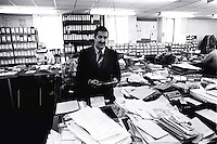 Pix: Barry Wilkinson/SWpix.com. The Yorkshire Ripper Archive. 14th May 1979 - 11th May1980...COPYRIGHT PICTURE>>SIMON WILKINSON>>0870 092 0092>>..CID Jim Hobson.
