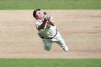 PICTURE BY VAUGHN RIDLEY/SWPIX.COM - Cricket - LV County Championship - Yorkshire v Lancashire, Day Two - Headingley, Leeds, England - 20/08/09...Copyright - Simon Wilkinson - 07811267706...Lancashire's Steven Croft makes a brilliant play to catch out Yorkshire's Anthony McGrath.