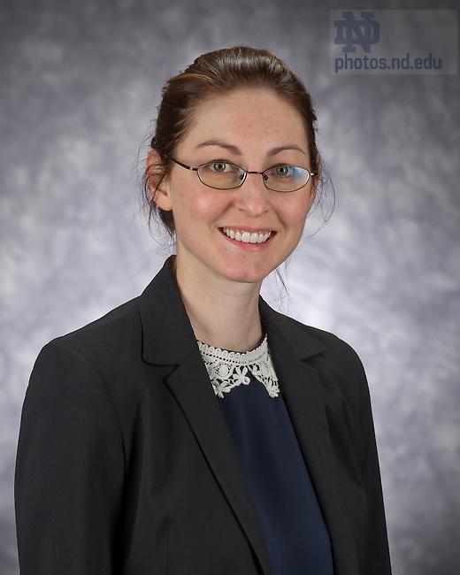 Jan. 24, 2013; Melissa Dinsman, Notre Dame Institute for Advanced Study..Photo by Matt Cashore/University of Notre Dame
