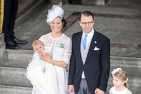 Prince Oscar of Sweden Royal Christening