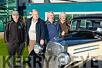 Kingdom Veteran Vintage & Classic Car Club held a rally in aid of Ballybunion Health & Leisure Centre on Sunday. Pictured l-r Jimmy Murphy,  Fintan Dowling, Tom Slattery and John Walsh with the 1935 Vauxhall 146