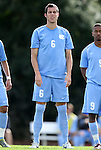 27 November 2011: North Carolina's Matt Hedges. The University of North Carolina Tar Heels defeated the Indiana University Hoosiers 1-0 in overtime at Fetzer Field in Chapel Hill, North Carolina in an NCAA Men's Soccer Tournament third round game.