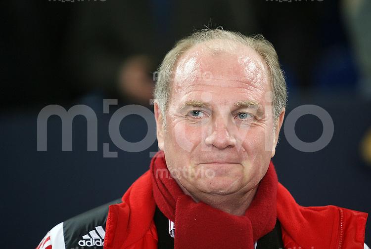 FUSSBALL     1. BUNDESLIGA/DFB POKAL     SAISON 2007/2008 Manager Uli HOENESS (FC Bayern Muenchen)