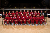 Stanford Volleyball M Portraits and Team Photo, October 7, 2016
