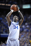 UK's DeAndre Liggins shoots a free throw during the first half of the University of Kentucky Men's basketball game against Tennessee at Rupp Arena in Lexington, Ky., on 2/8/11. Uk led at half 35-28. Photo by Mike Weaver | Staff