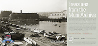 North Beach Power House | November 6, 1914  | Treasures from the Muni Archive at the SFO International Terminal