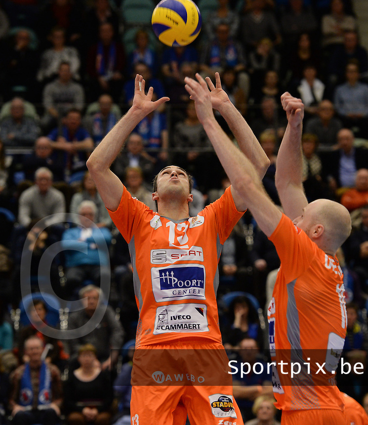 Volley Behappy2 Asse Lennik : Tim Verschueren<br /> foto VDB / BART VANDENBROUCKE