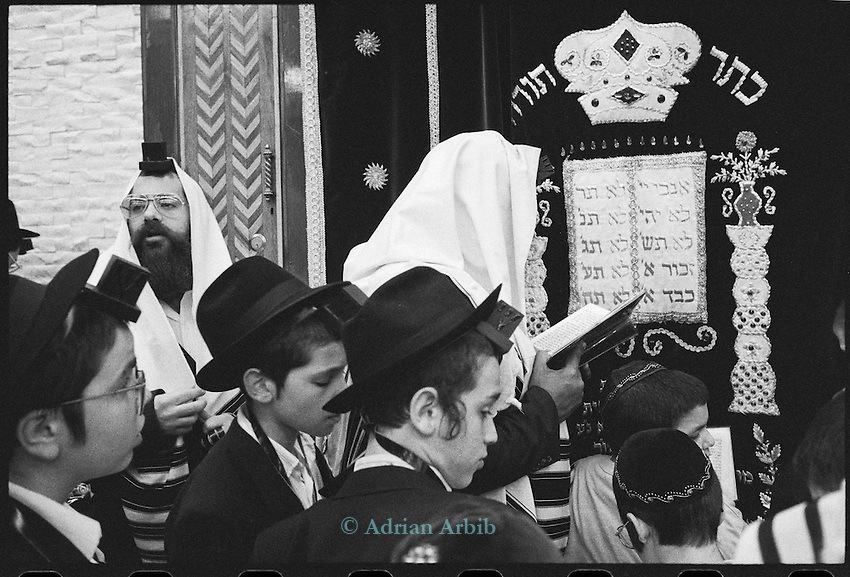 Lubavitch synagogue ,   Crown Heights, Brooklyn , New York