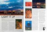 "Shutterbug Magazine Column ""On the Road"""