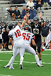 ICCP defensive end and nephew Michael Perrone goes up and partially deflects this AC pass.