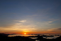 Earth Day 2011<br /> Sunrise over the British Virgin Islands<br /> from St. John <br /> U.S. Virgin Islands