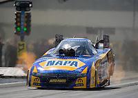 Sep 18, 2016; Concord, NC, USA; NHRA funny car driver Ron Capps during the Carolina Nationals at zMax Dragway. Mandatory Credit: Mark J. Rebilas-USA TODAY Sports