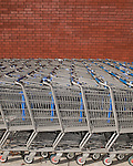 November 25, 2011. Durham, NC.. Black Friday sales at BestBuy and Walmart at New Hope Commons.<br />